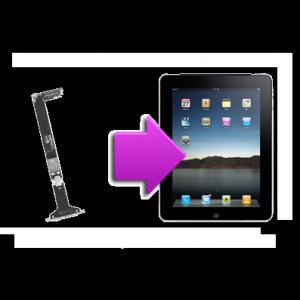 Changement  connecteur charge iPad 1