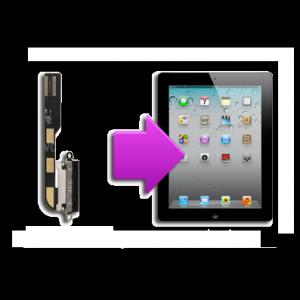 Changement  connecteur charge iPad 2