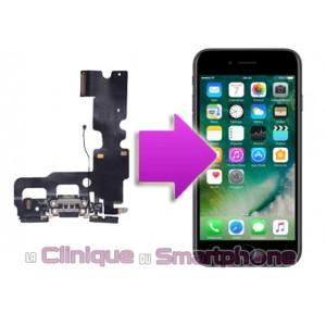 Remplacement connecteur de charge iPhone 7 Plus