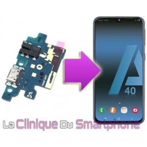 Remplacement du Connecteur de charge Samsung Galaxy A40
