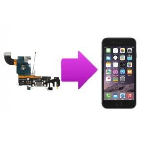 Changement nappe connecteur charge, micro et écouteurs iPhone 6S Plus