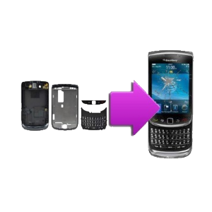 Changement coque compléte BlackBerry torch 9800