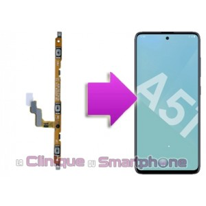Changement nappe power volume Samsung Galaxy A51