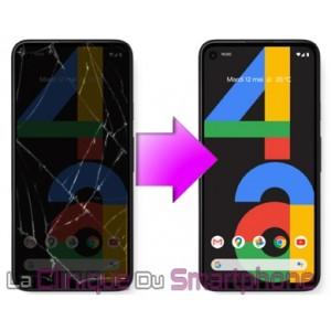 Remplacement Vitre Tactile + Ecran Oled Google Pixel 4A