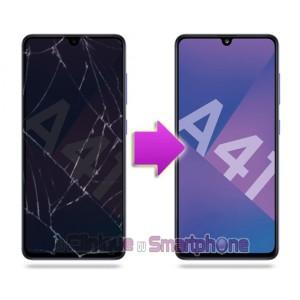 Remplacement Vitre Tactile + Ecran Samsung Galaxy A41