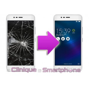Changement bloc écran Asus Zenfone 3 max