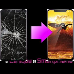 Remplacement Vitre Tactile + Ecran LCD Nokia 8.1