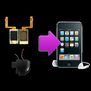 Changement haut-parleur iPod V2,V2,V4