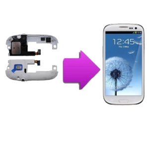 changement  bloc HP + prise  jack  SAMSUNG Galaxy S3 -i9300