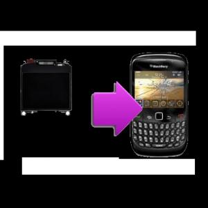Changement écran LCD BlackBerry 8520
