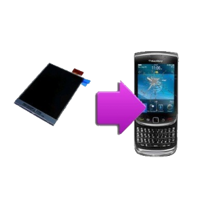 Changement écran LCD BlackBerry torch 9800
