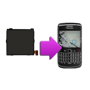 Changement écran LCD BlackBerry Bold 9900