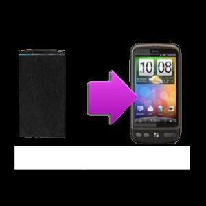 Changement écran LCD HTC Desire - G7