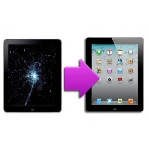Changement vitre tactile + LCD iPad 1
