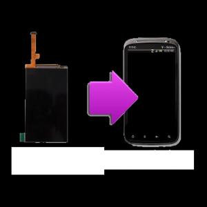 Changement écran LCD HTC Sensation - G14