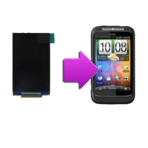 Changement écran LCD HTC Wild Fire S - G13