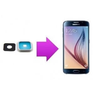 Remplacement lentille arrière Samsung Galaxy S6 Edge/Edge +