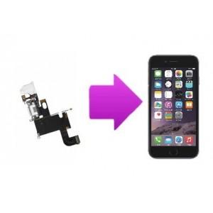 Changement nappe connecteur charge, micro et écouteurs iPhone 6 Plus