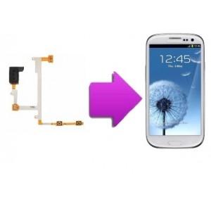 Changement Nappe écouteur  volume Samsung Galaxy S3 - i9300