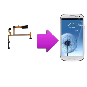 Changement nappe ecouteur interne  SAMSUNG Galaxy S3 - I9300