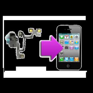 Changement nappe prise écouteurs,volume et mute iphone 4
