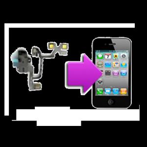 Changement nappe prise écouteurs, volume et mute iphone 4S