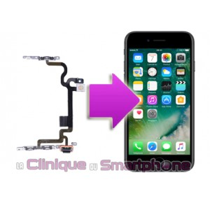 Remplacement nappe Power iPhone 7 Plus