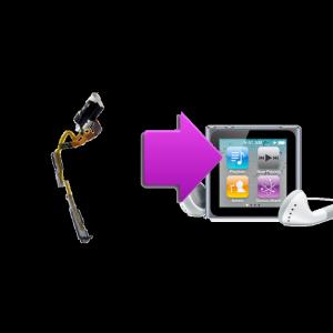 Changement nappe power , volume , jack Ipod Nano 6