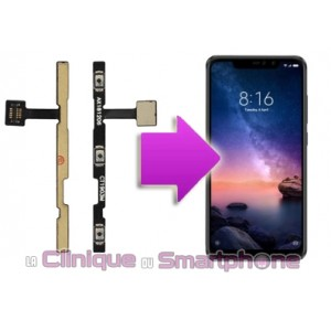 Remplacement Nappe power Xiaomi RedMi Note 6 Pro