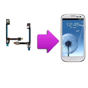 Changement nappe proximitée  SAMSUNG Galaxy S3 - I9300