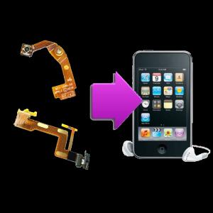 Changement nappe Wi-Fi iPod V2/V3/V4