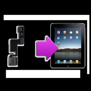 Changement port carte sim iPad 1