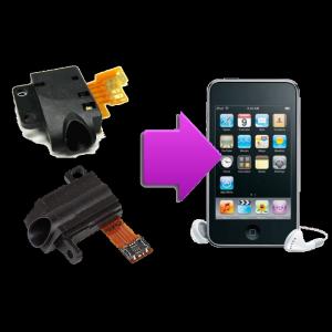 Changement prise casque iPod V2/V3/V4