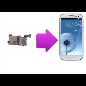 Changement lecteur SIM  SAMSUNG Galaxy S3 - I9300