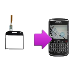 Changement vitre tactile BlackBerry Bold 9900