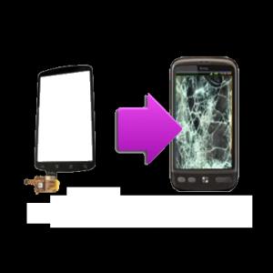 Changement vitre tactile HTC Desire - G7