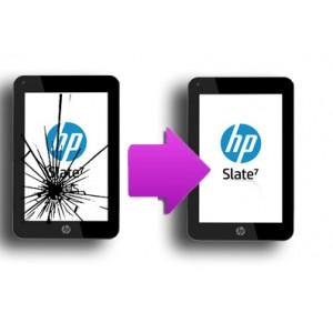 Changement vitre tactile HP Slate 7