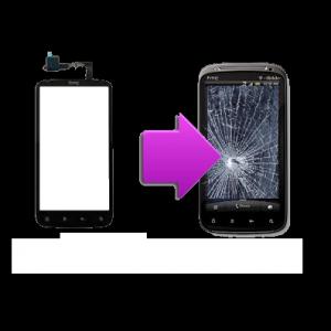 Changement vitre tactile HTC Sensation - G14