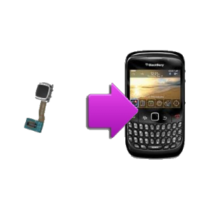 Changement trackball BlackBerry curve 8520