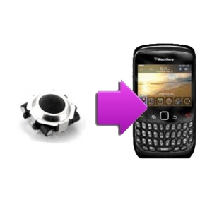 Changement trackball  BlackBerry Tour 9630