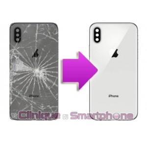Remplacement vitre arrière iPhone X