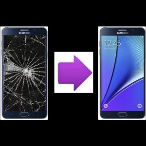 Changement vitre arrière Samsung Galaxy Note 5
