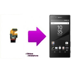 Remplacement connecteur de charge Sony Xperia Z5 / Z5 compact / Z5 Premium
