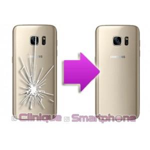 Remplacement vitre arrière Samsung Galaxy S7 (SM-G930)