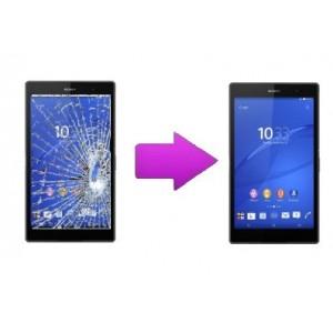 Changement bloc écran tablette Sony Tab Z3 Compact
