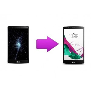 Changement écran LCD + tactile LG G4