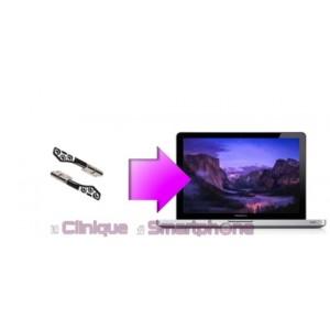 """Remplacement charnières Macbook Pro 13"""", 15"""" ou 17"""""""
