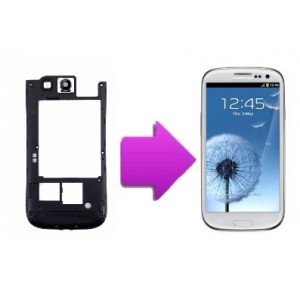 Changement chassis + lentille camera arriere Samsung Galaxy S3 - i9300