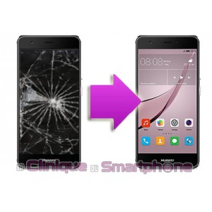 Remplacement Vitre Tactile + Ecran LCD Huawei Nova
