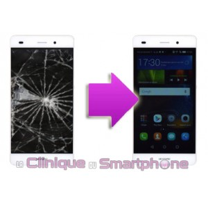 Changement LCD +  vitre tactile  HUAWEI P8 Lite
